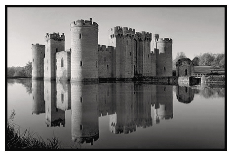 bodiam castle study 2 east sussex