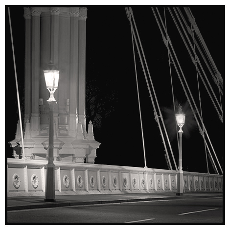 albert bridge night study 4, battersea