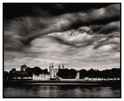 tower of london storm clouds