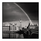 rainbow over westminster london